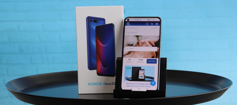 Das Honor View 20. Teste das Oberklasse- Smartphone im selbstbewussten Design!