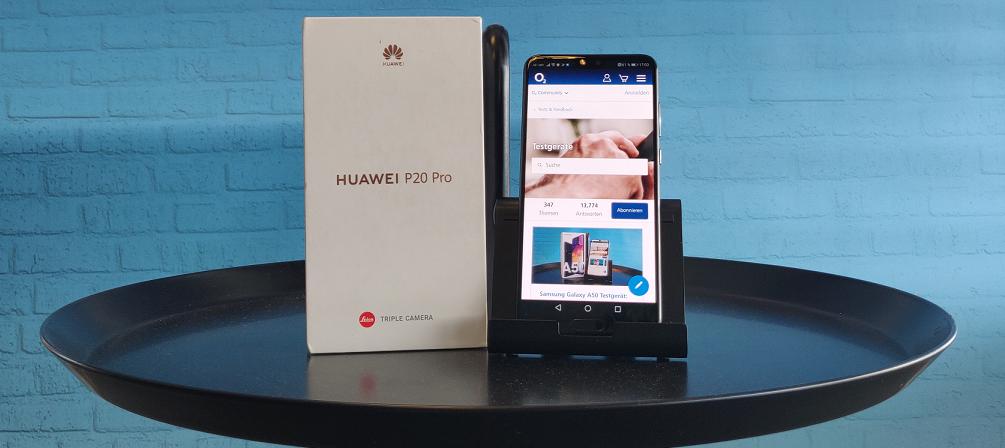 Huawei P20 Pro Testgerät: 2020 wird dein Jahr als Smartphone-Tester/in! Bewirb dich jetzt!