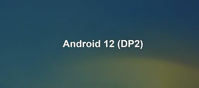 Android 12 - Developer Preview