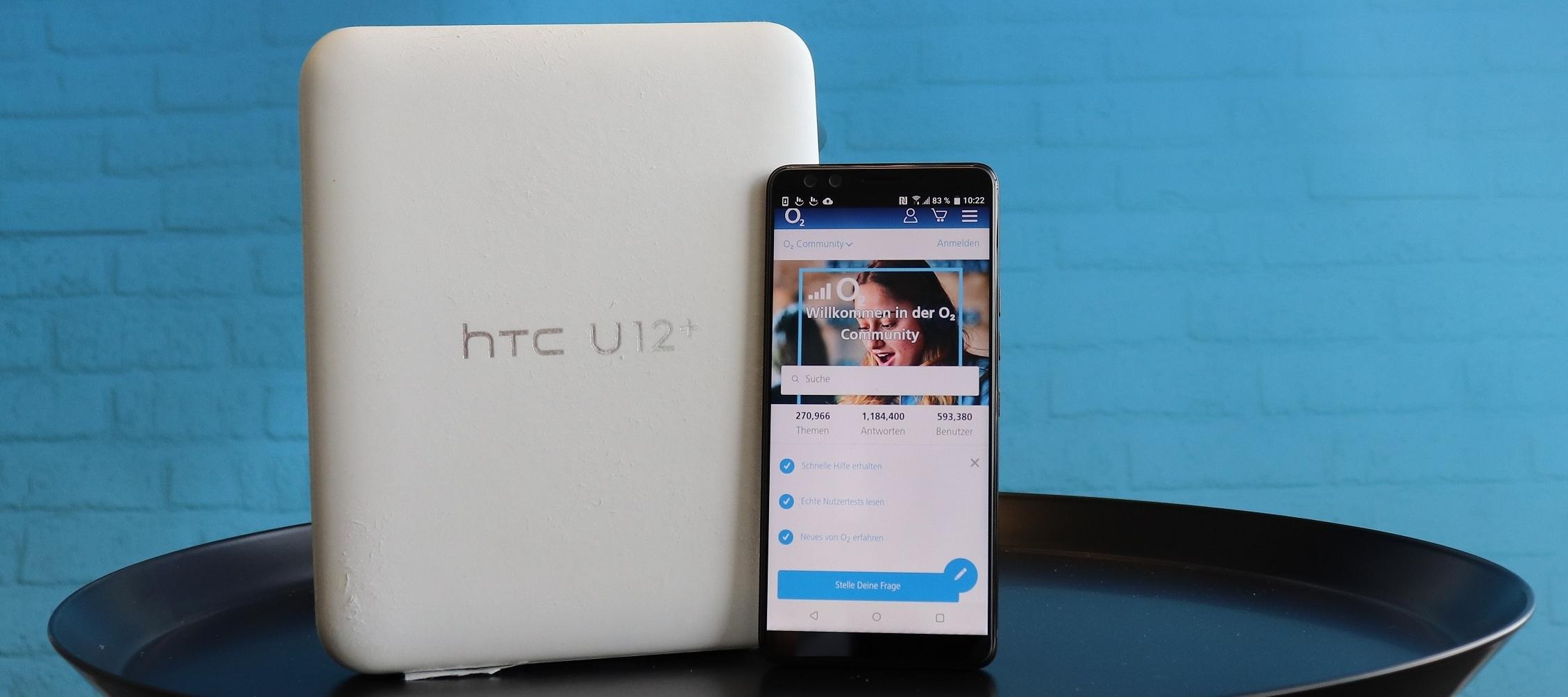HTC U12+ Testgerät - Einjähriges Jubiläum