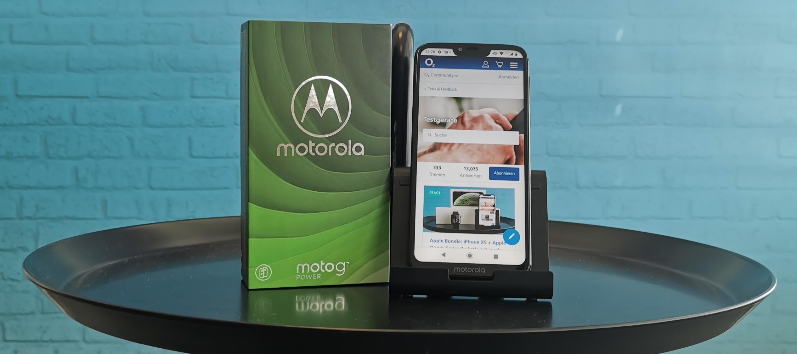 Motorola Moto G7 Power - Bewirb dich jetzt und teste die Power!