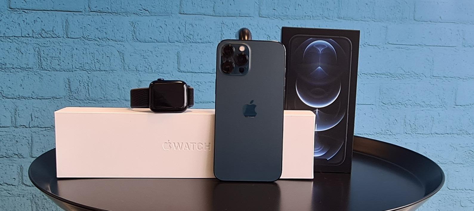 iPhone 12 Pro Max + Apple Watch Series 6 - Teste das Traumbundle