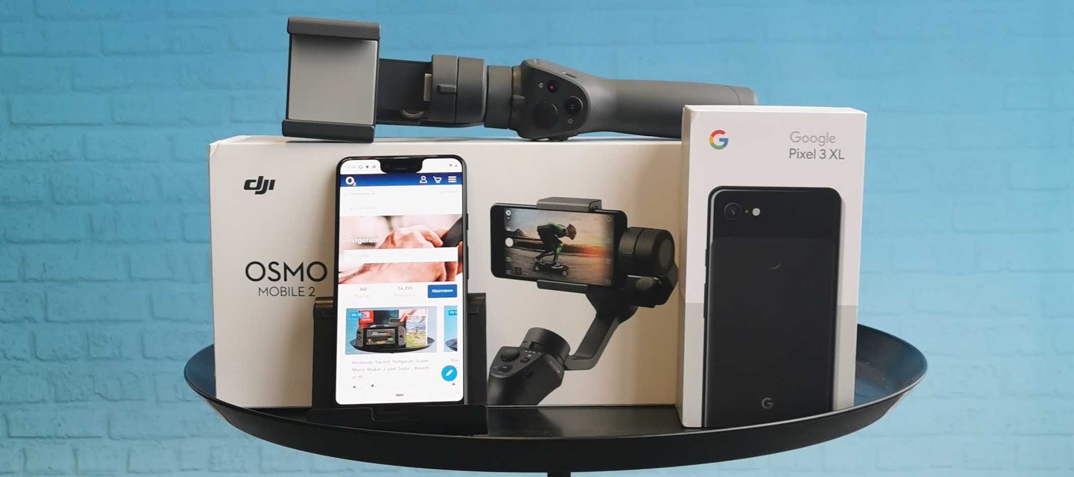 Google Pixel 3 XL & Osmo Mobile 2 Gimbal: Teste das Video-Bundle - Bewirb dich jetzt!