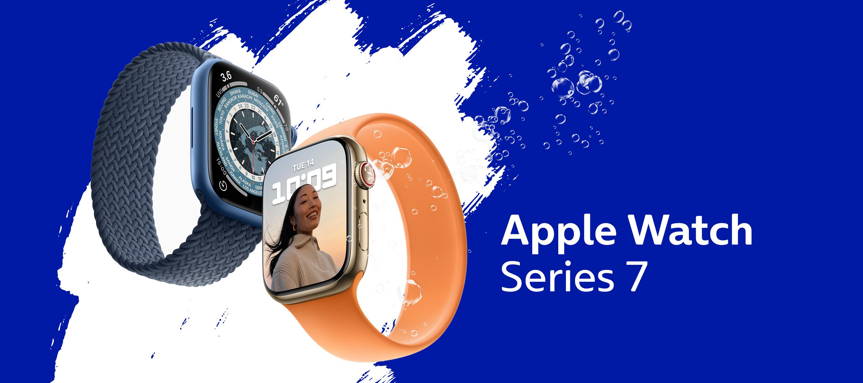 Alles wichtige am Handgelenk: Die Apple Watch Series 7 bei O₂