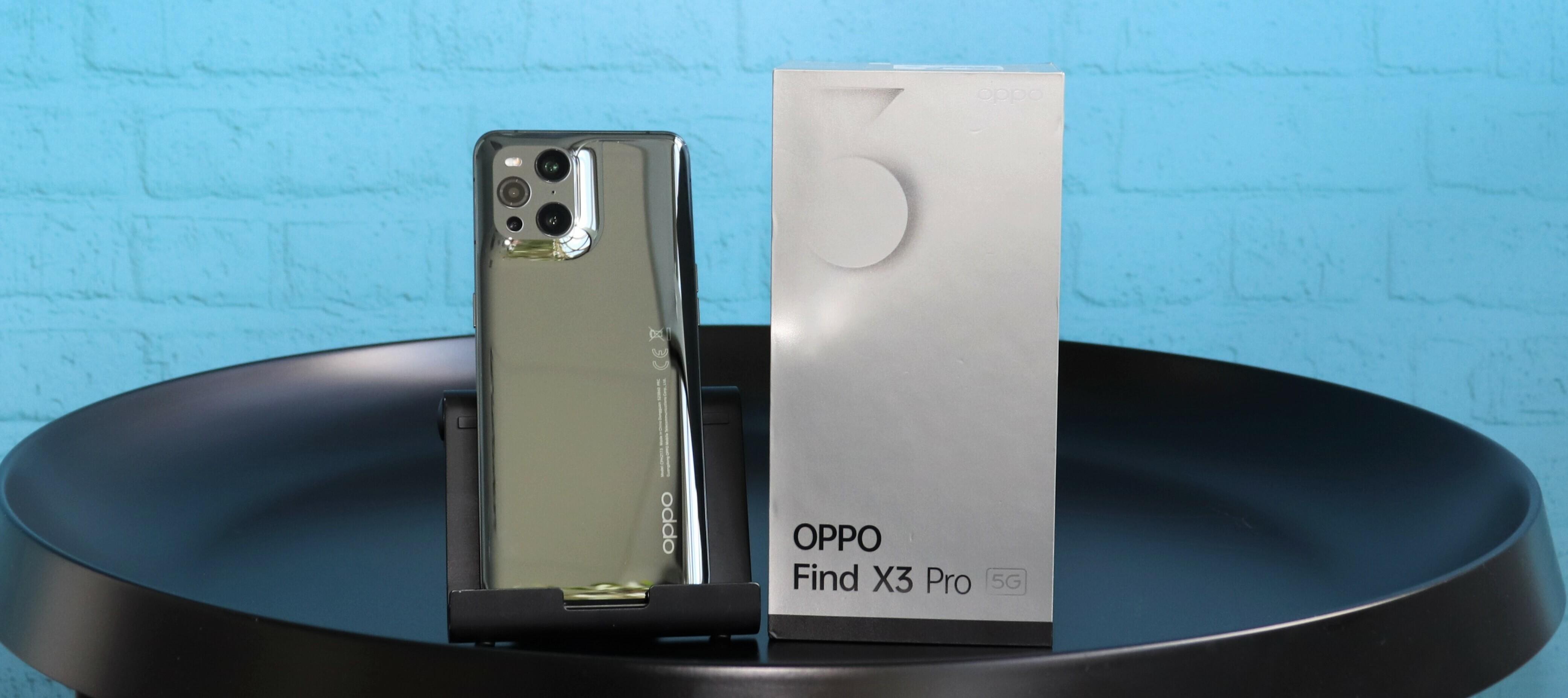 Oppo Find X3 Pro 5G Testgerät - tauche ein in neue Sphären und teste die Luxus-Klasse!