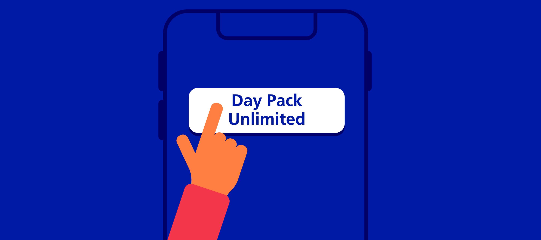 Mit dem neuen Day Pack Unlimited von O₂ spontan grenzenlos surfen