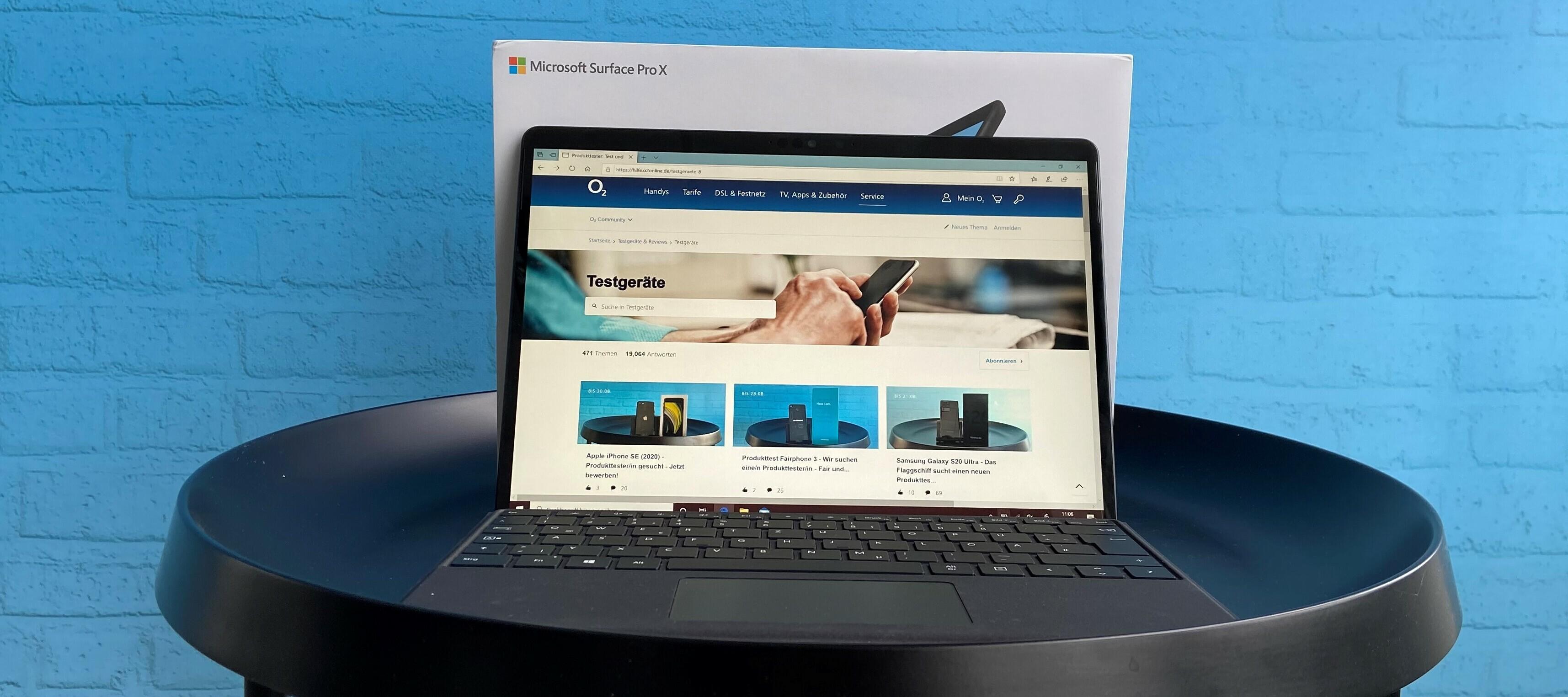 Microsoft Surface Pro X Produkttester/in gesucht - jetzt bewerben!