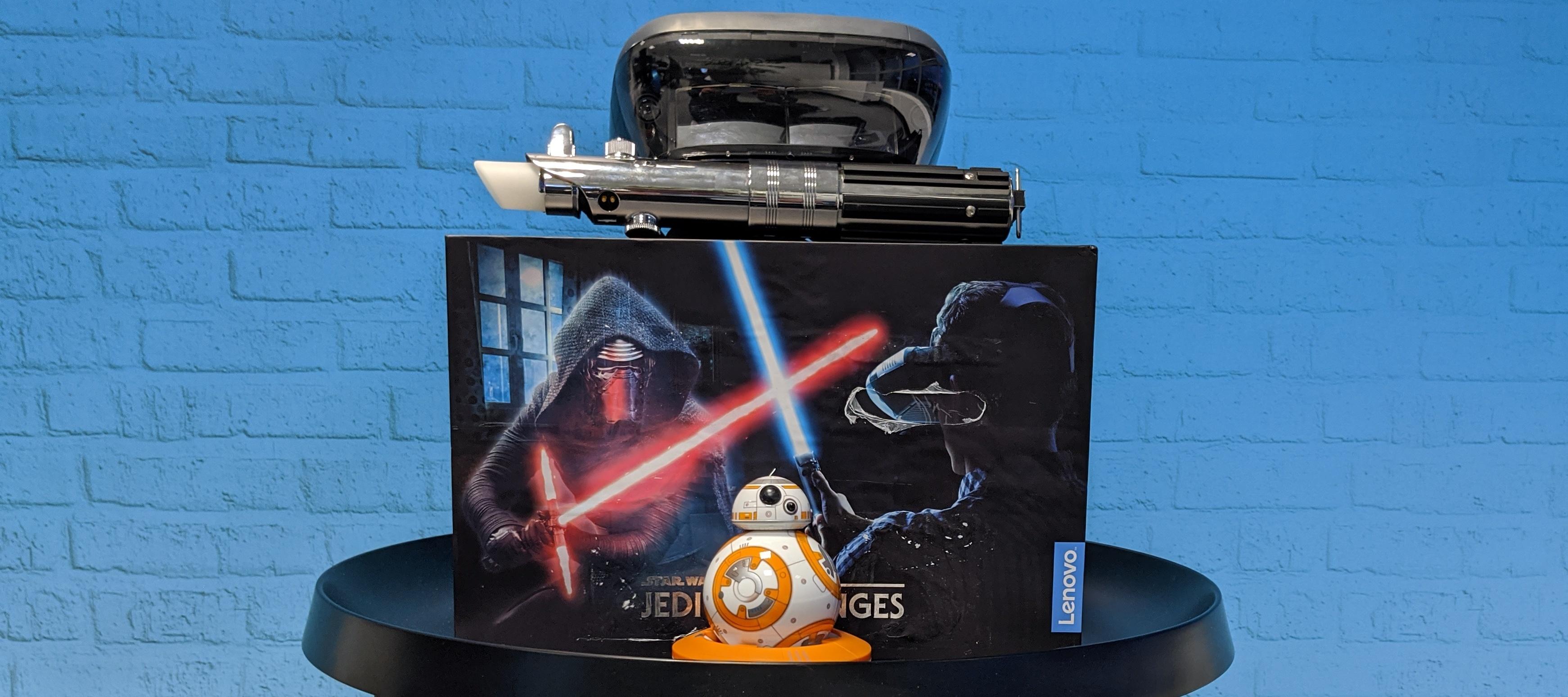 Star Wars Test-Bundle: Lenovo Jedi Challenges + Sphero BB-8 zum Filmstart Testen! Bewirb dich jetzt