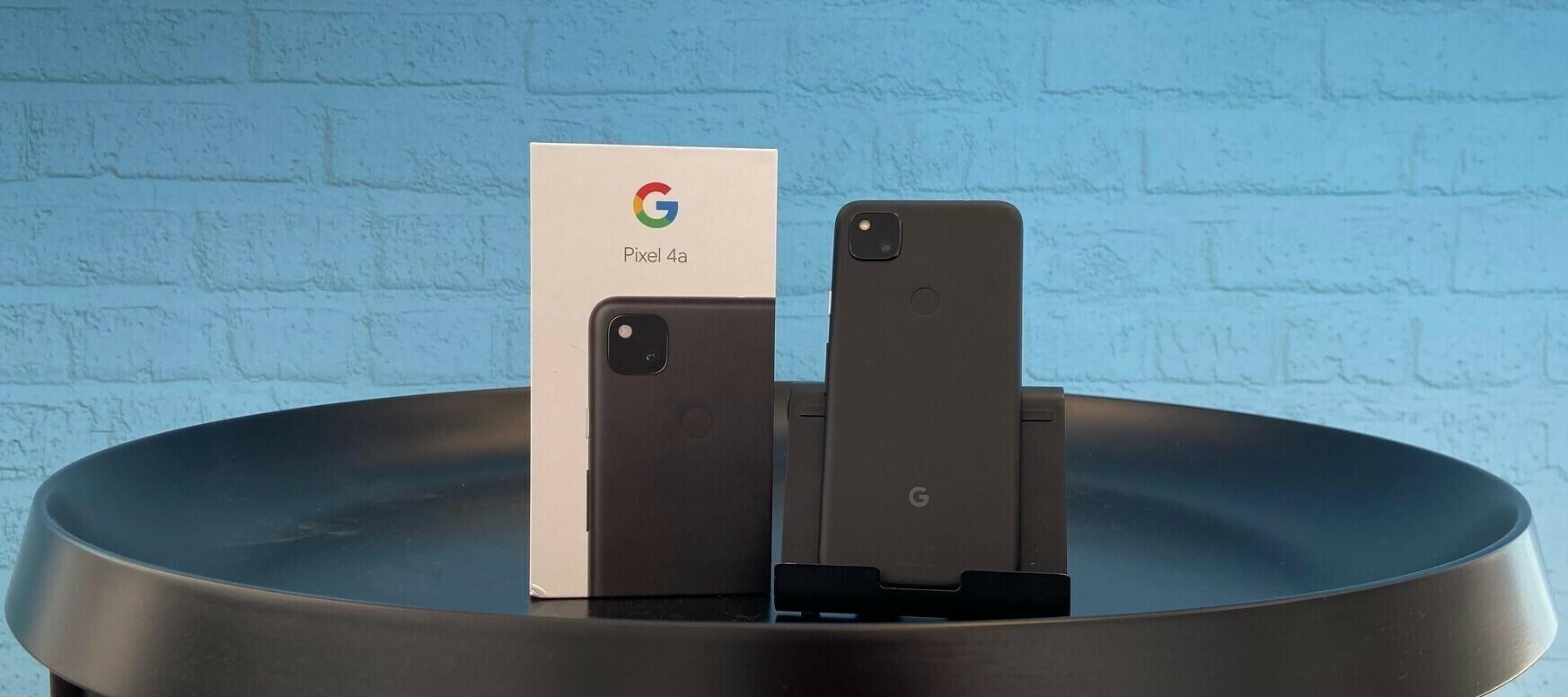 Google Pixel 4a Testgerät - so intelligent wie noch nie?