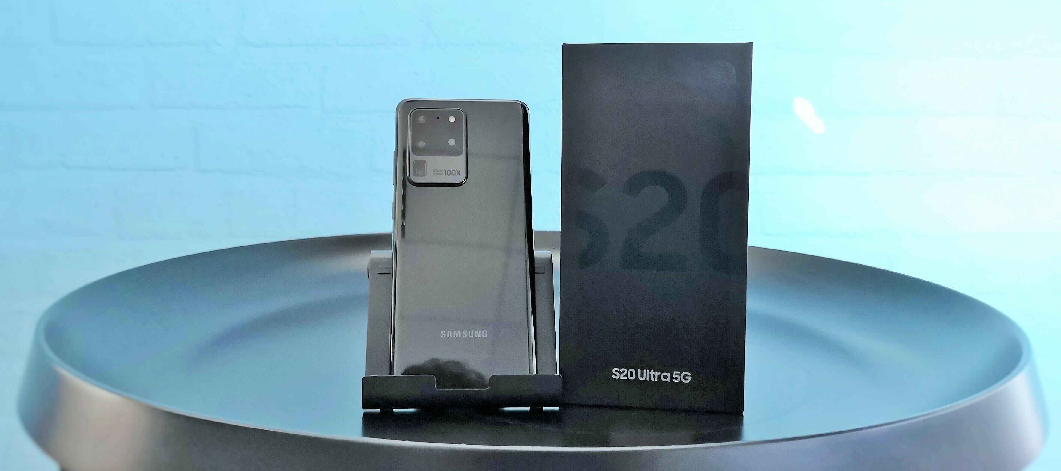 Samsung Galaxy S20 Ultra 5G Testgerät - Spitzentechnik die begeistert? Produkttester/in gesucht!
