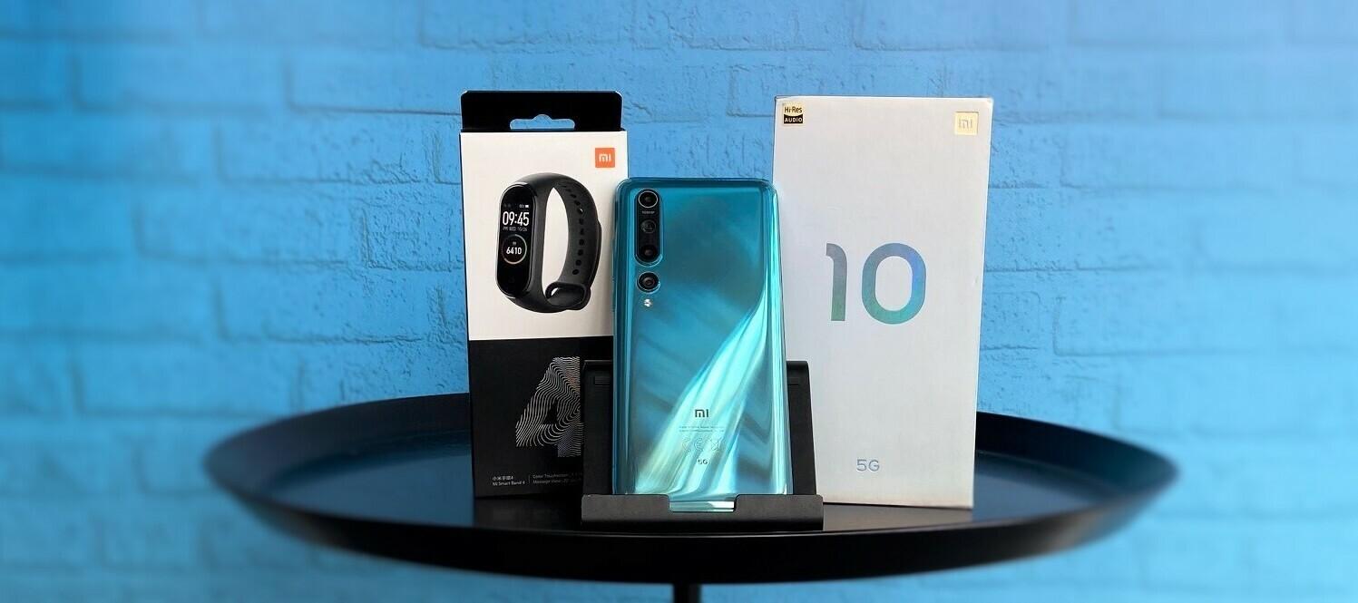 Xiaomi Mi 10 & Mi Band 4 - Teste das Fitnessbundle von Xiaomi