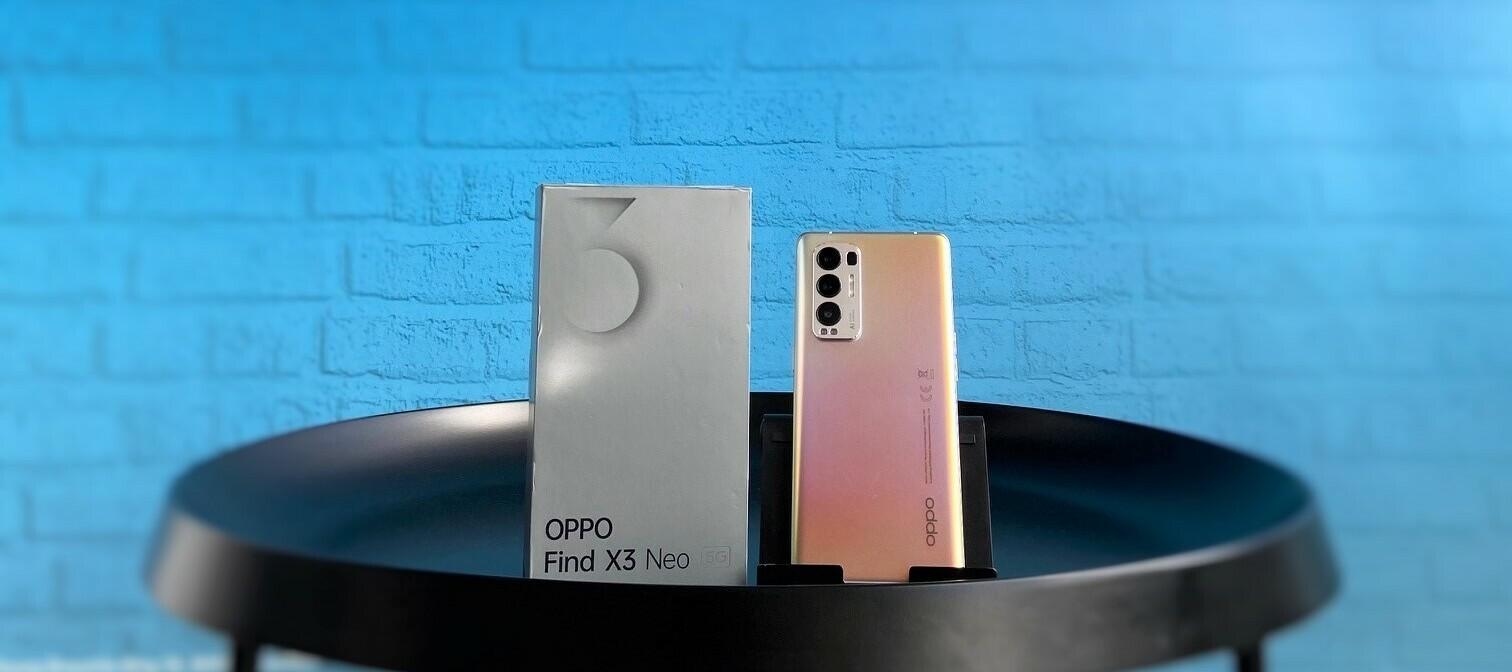 Oppo Find X3 Neo - schick und schnell. Teste die günstige Oberklasse!