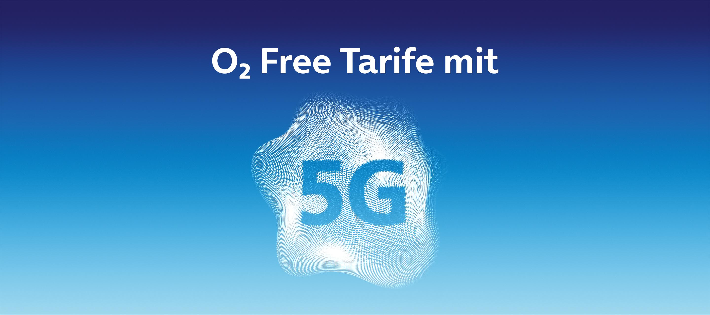 Mehr O₂ Mobilfunktarife mit 5G