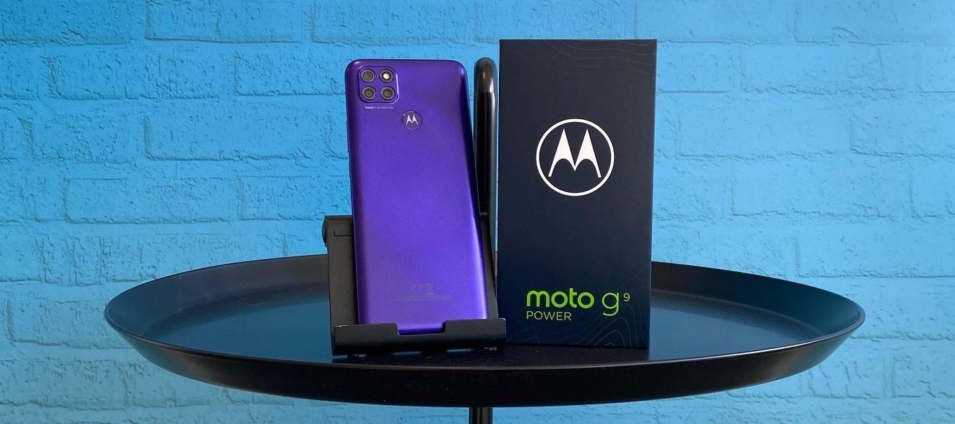 Motorola Moto G9 Power Testgerät - Wir bringen die Power zu dir nach Hause