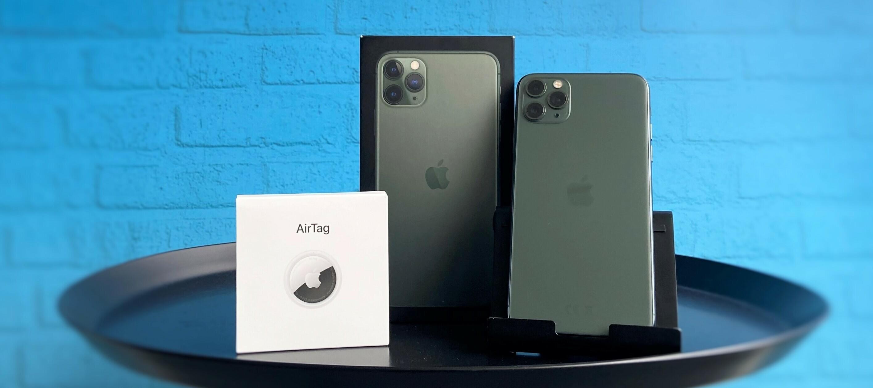 Verpasse nicht deine Chance das iPhone 11 Pro Max + Apple Air Tag kostenlos zu testen