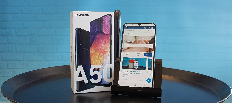 Samsung Galaxy A50  - teste die beliebte Mittelklasse!