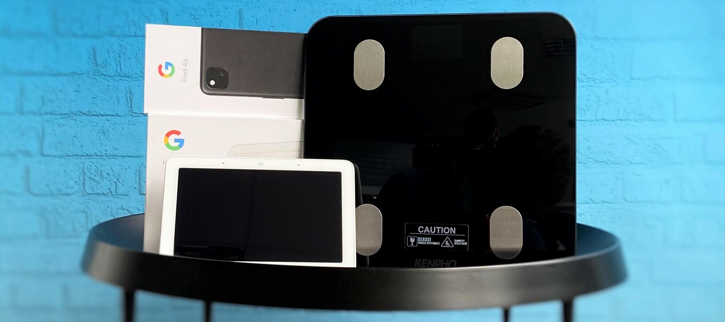 Pixel 4a + Google Nest Hub + Renpho Smart Scale -  das Testgeräte-Trio für dich!