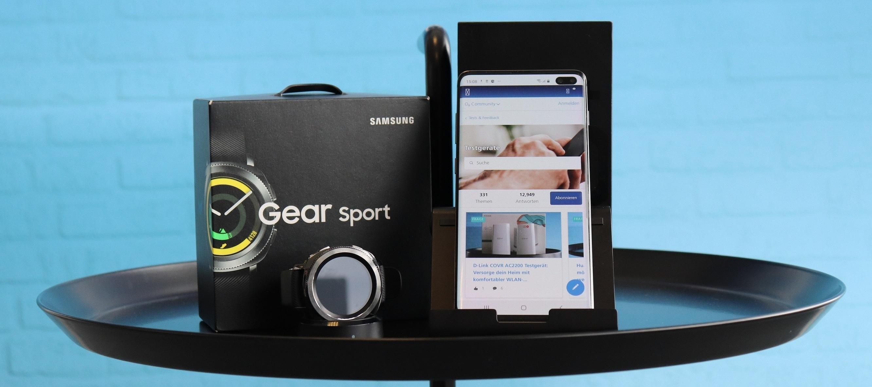 Samsung Galaxy S10+ und Samsung Gear Sport. Werde Testerin oder Tester des Dreamteams!