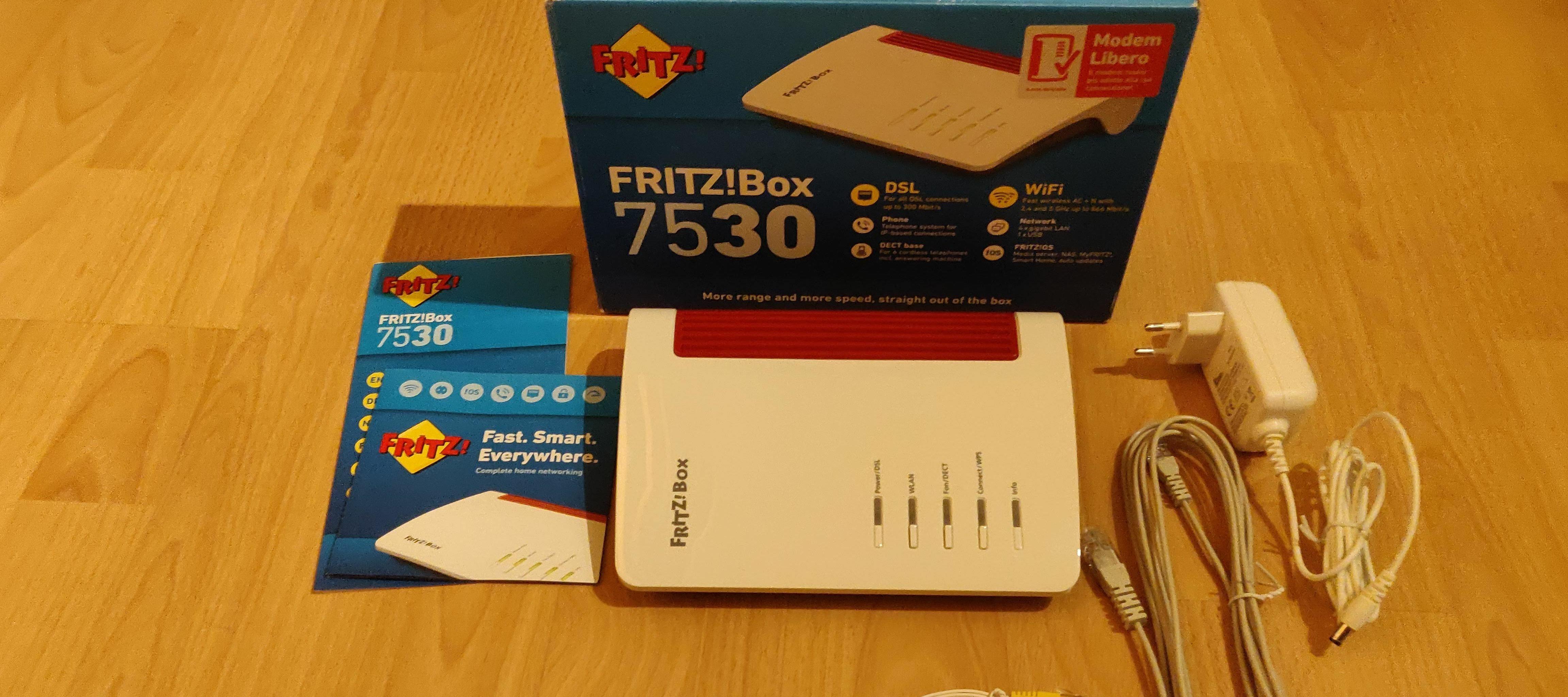 AVM FRITZBox 20 International Version multi language support ...