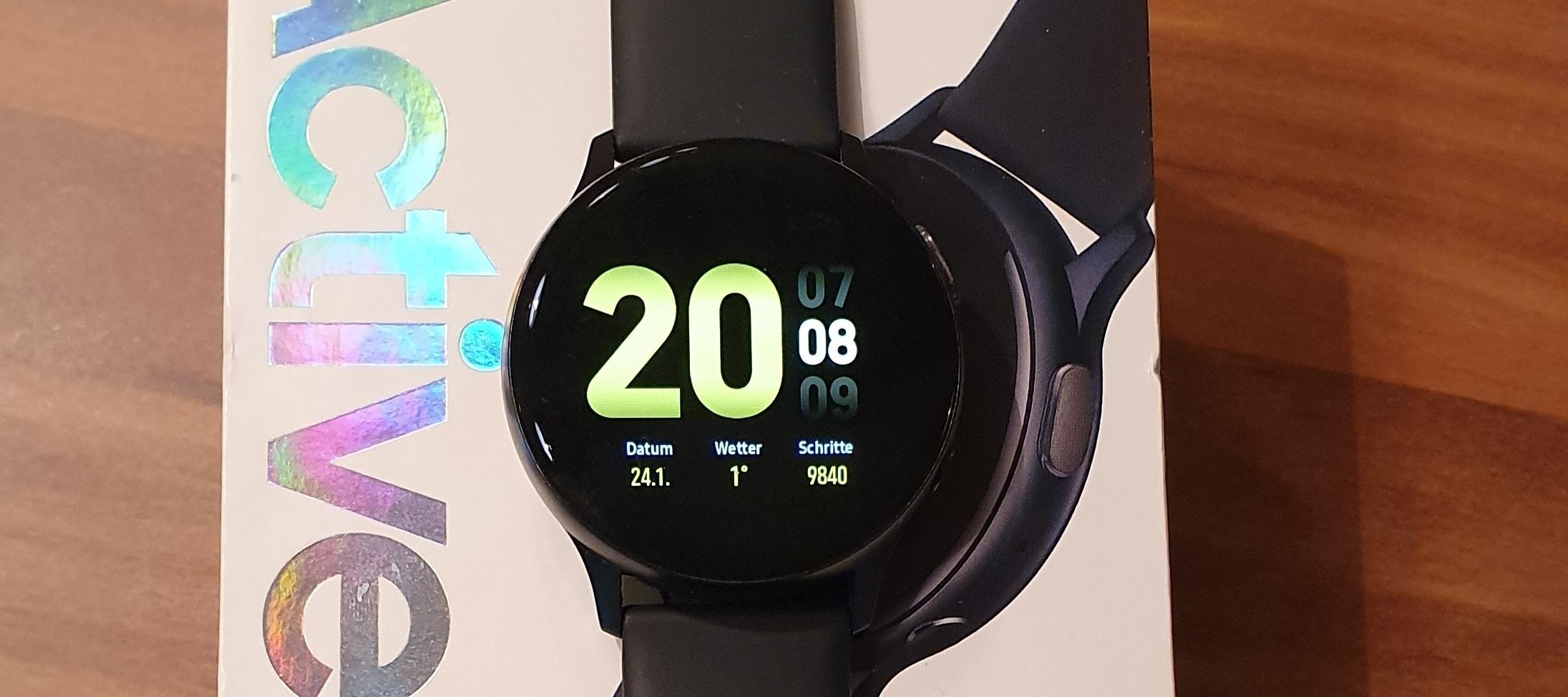 Review + Test zur Samsung Galaxy Watch Active 2 - mein neuer Freund