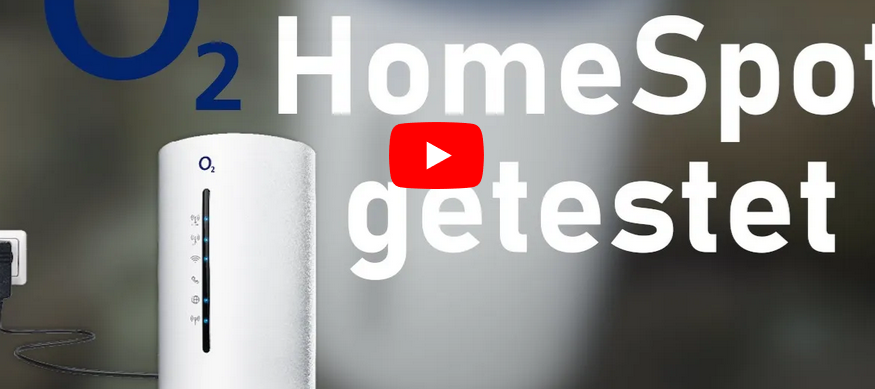 o2 HomeSpot (2019) LTE-Router getestet (YouTube)