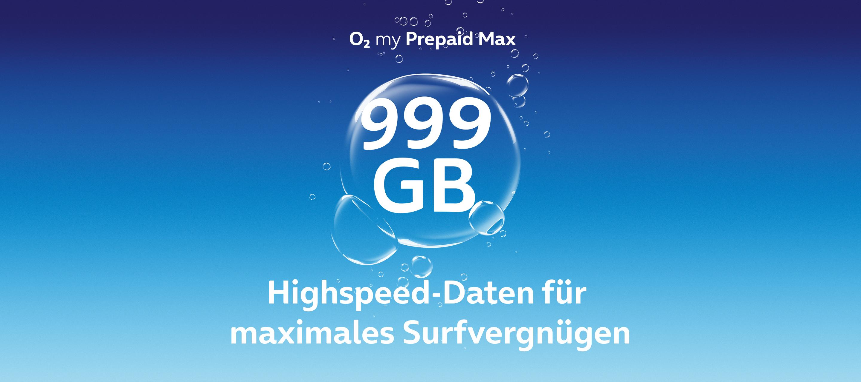 Maximales Surfvergnügen mit dem O₂ my Prepaid Max