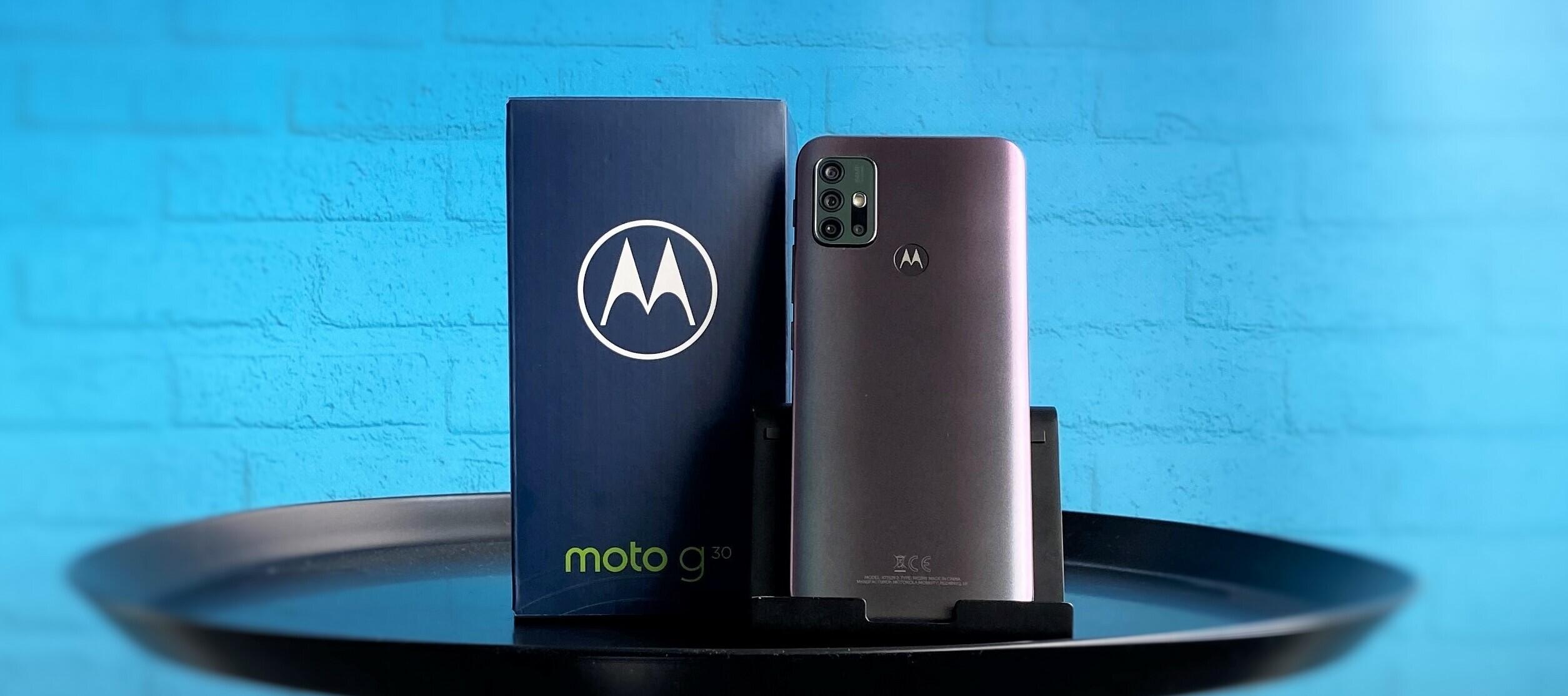 Motorola moto g30 - teste den günstigen Alleskönner!