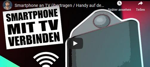 Smartphone an TV übertragen / Handy auf dem Fernseher streamen ohne Kabel mit dem BenQ InstaShow