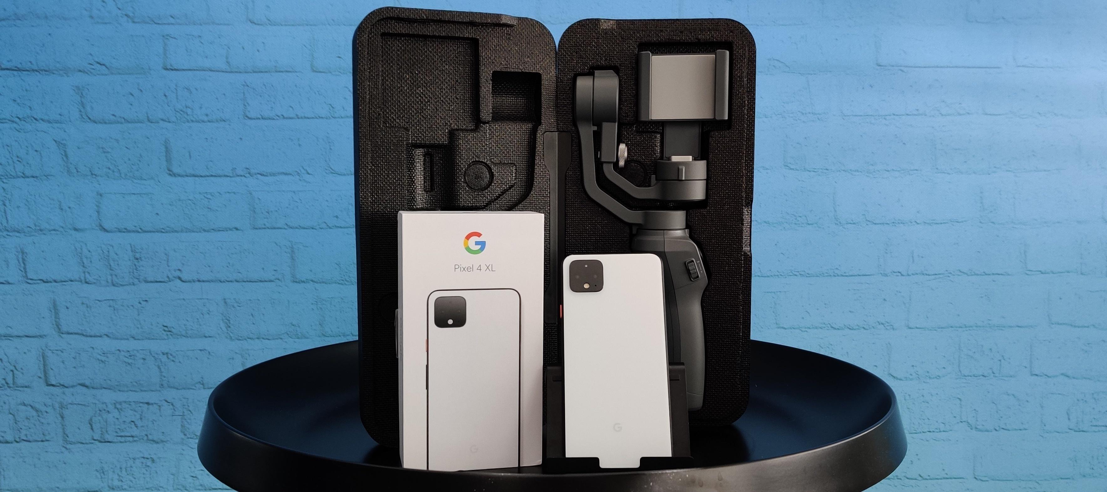 Google Pixel 4 XL & DJI Osmo Mobile 2 Testbundle: Als Produkttester/in stabil durch die Weihnachtszeit