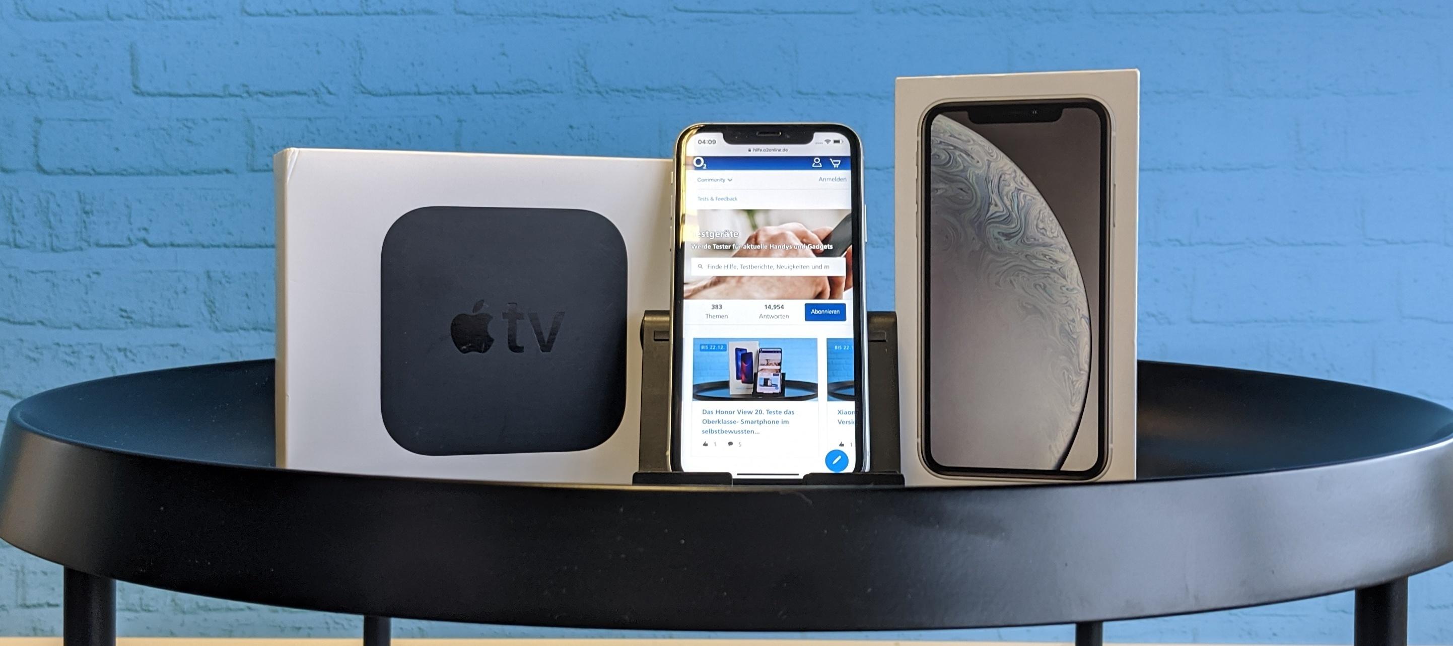 iPhone XR + Apple TV im Test-Bundle: Hol dir die Blockbuster in HD auf die Couch! Bewirb dich jetzt!