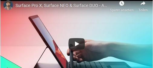 Die neuen Surface Produkte sind da inkl. Video | Das langersehnte Update