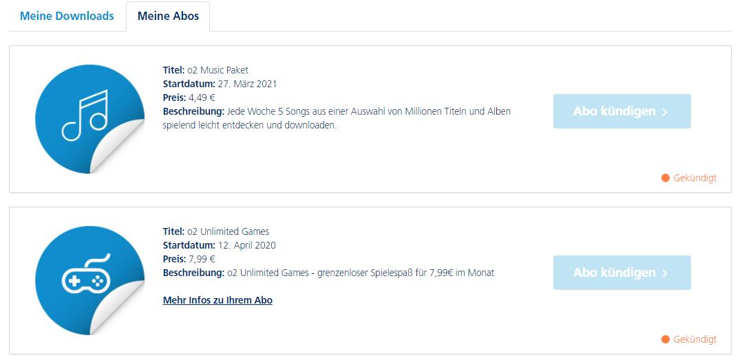 O2 Music Abo Falle   O₂ Community