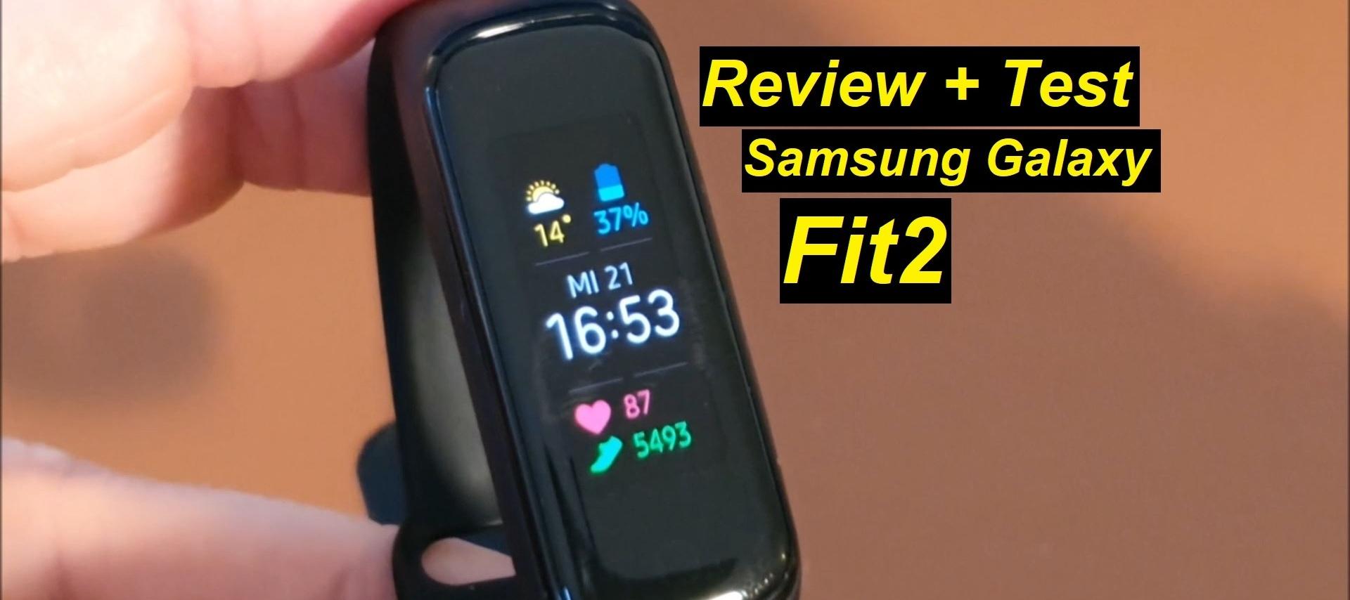 Mein Testurteil zur Samsung Galaxy Fit2 (Review + Test)