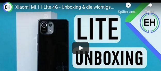 Xiaomi Mi 11 Lite 4G - Unboxing und die wichtigsten Features