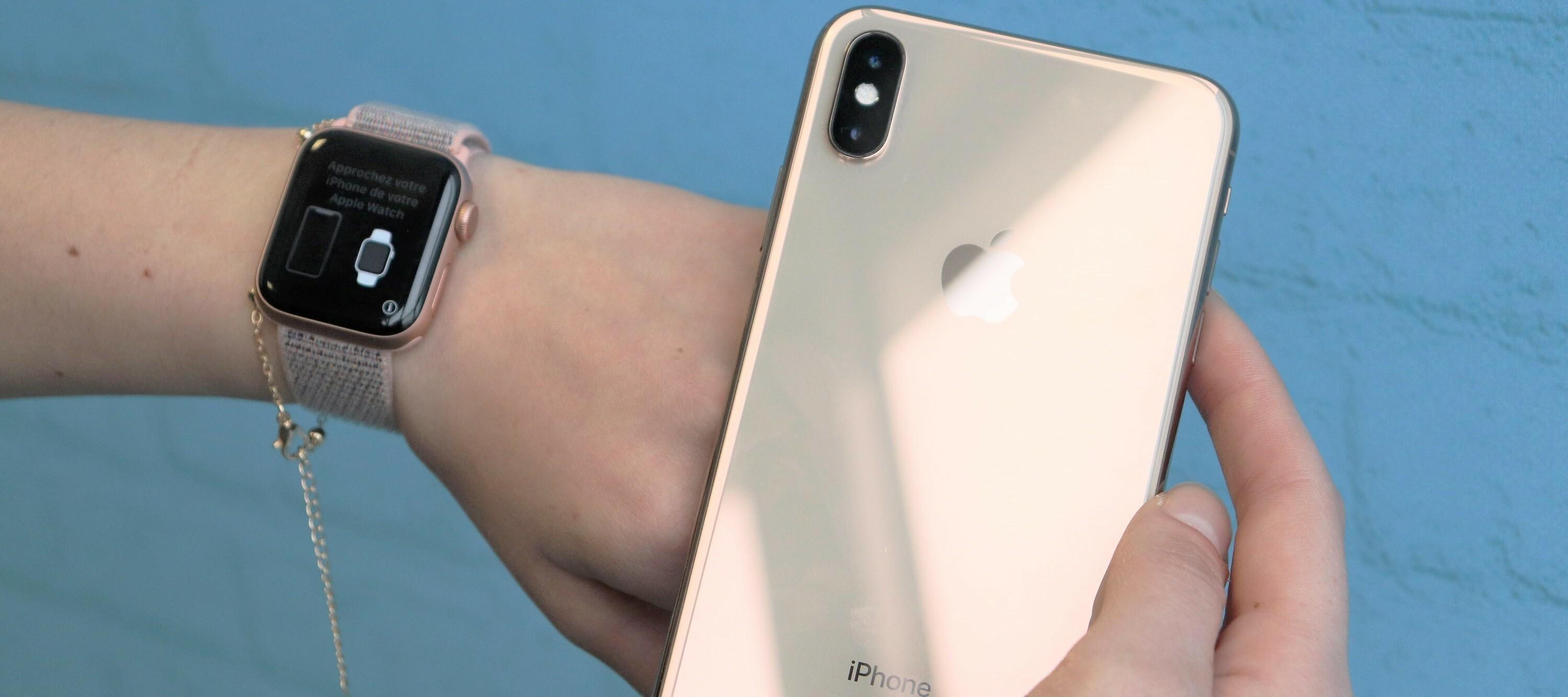 iPhone Xs Max & Apple Watch S4 Testgeräte in roségold: Das perfekte Bundle?