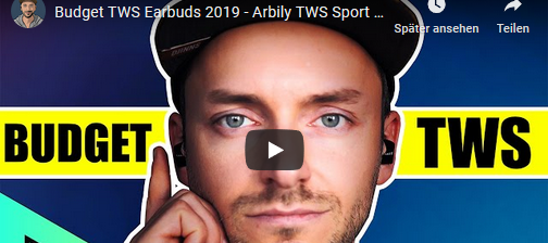 Budget TWS Earbuds 2019 - Arbily TWS Sport Kopfhörer unter 50 EURO im TEST