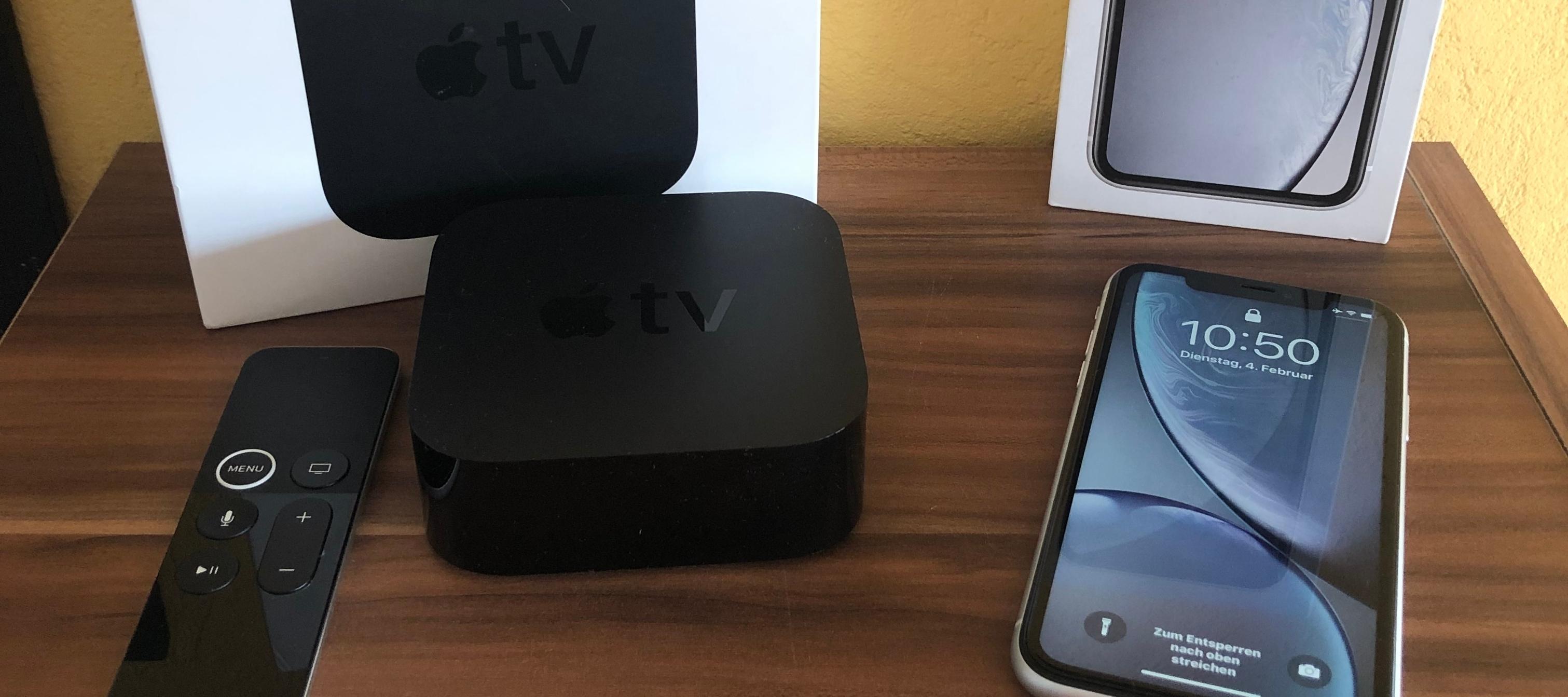 Testbericht Apple iPhone XR + Apple TV Bundle