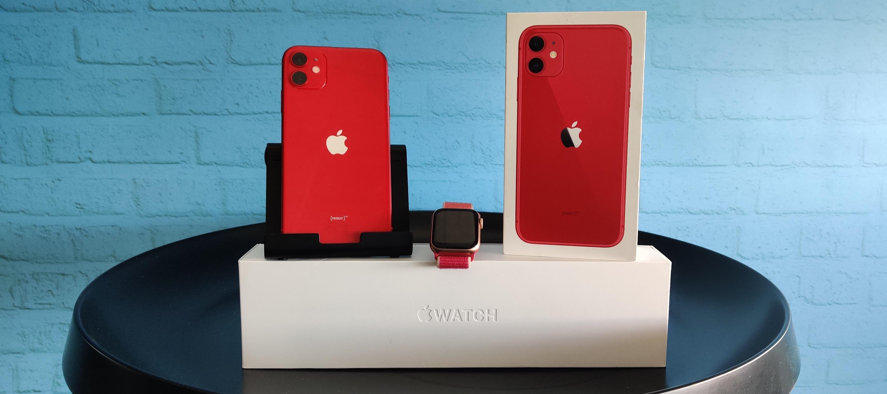 iPhone 11 Red & Apple Watch Series 5 im Bundle testen - Jetzt bewerben!