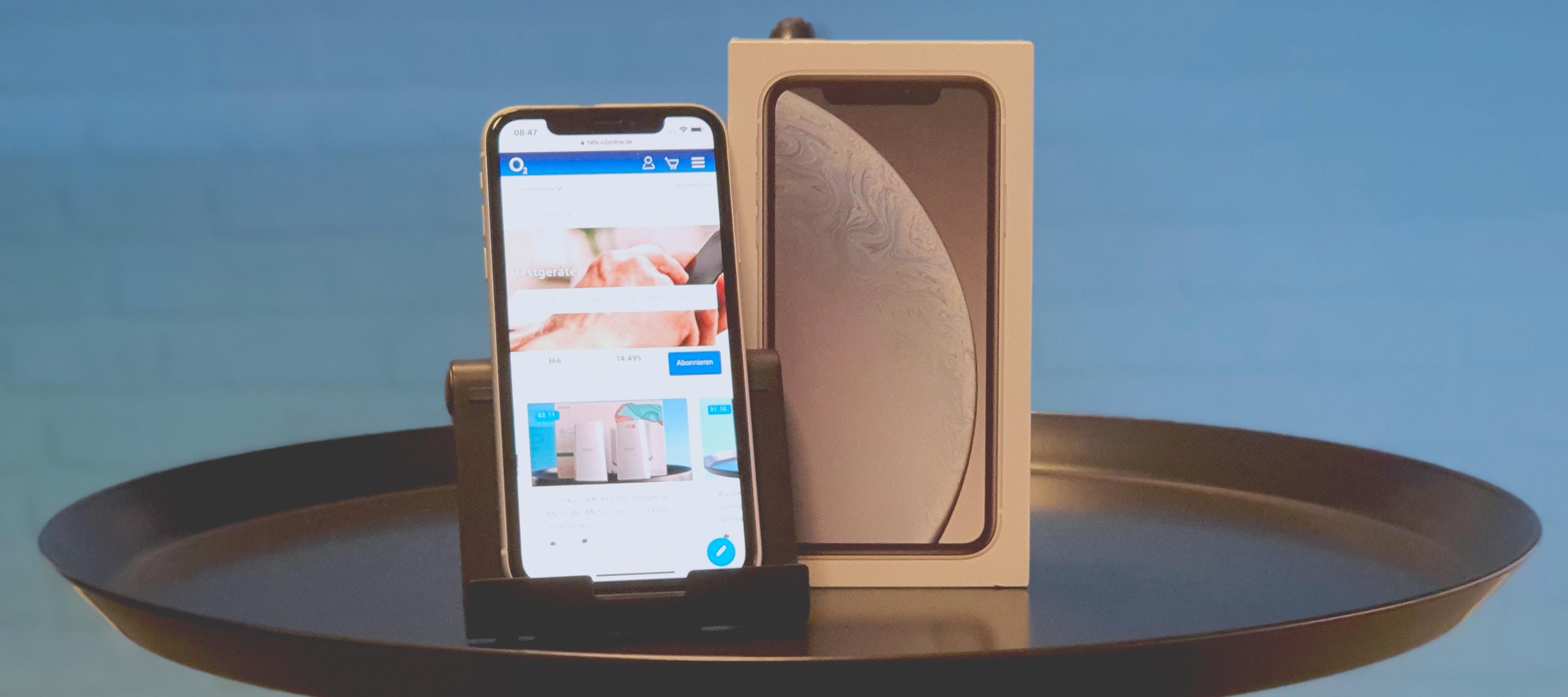 iPhone XR Testgerät: Teste das meistverkaufte Smartphone 2019