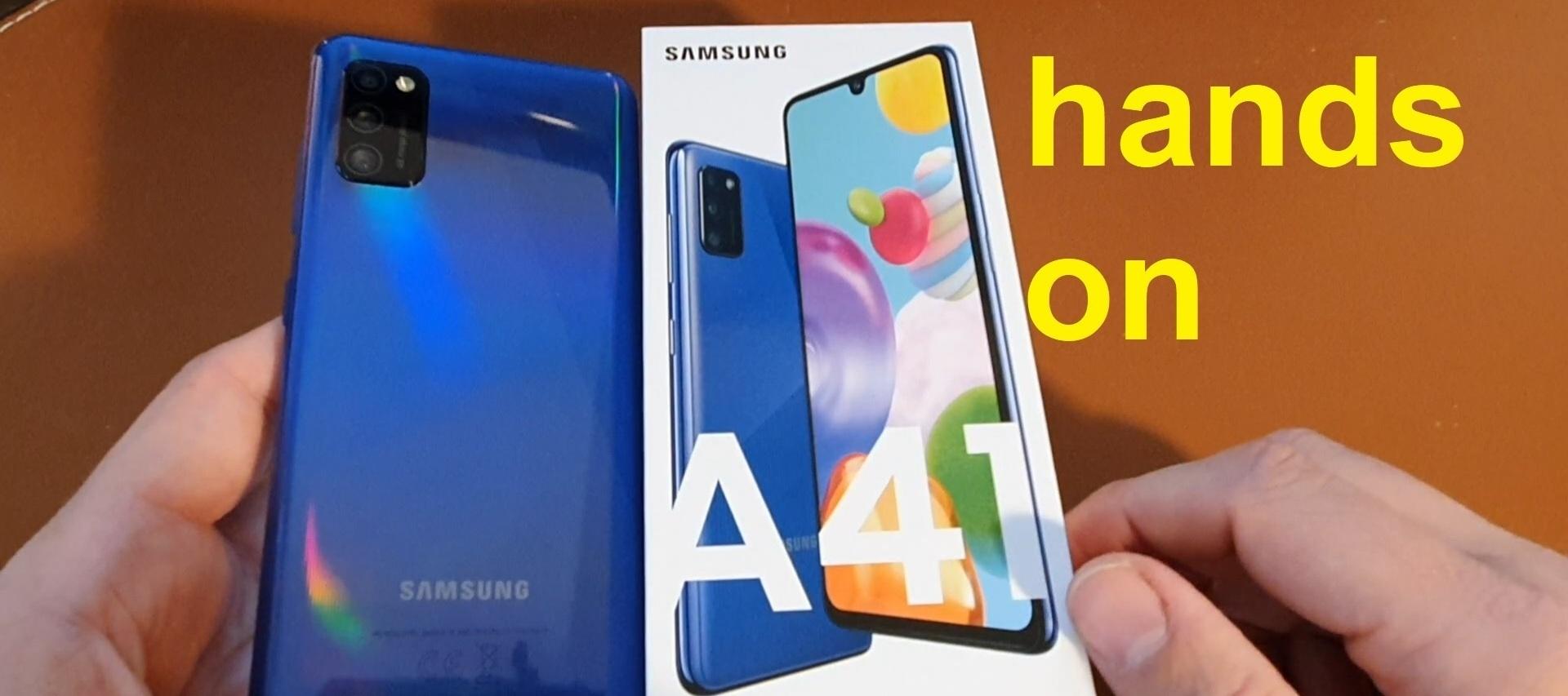 Hands-ON Samsung Galaxy A41 | SeppelPower