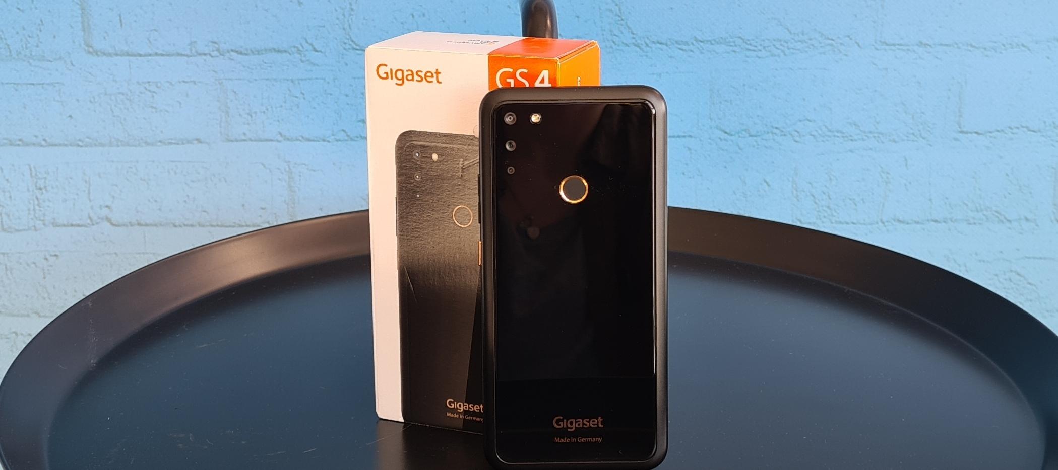 Gigaset GS4 - teste das Design-Smartphone aus Deutschland.