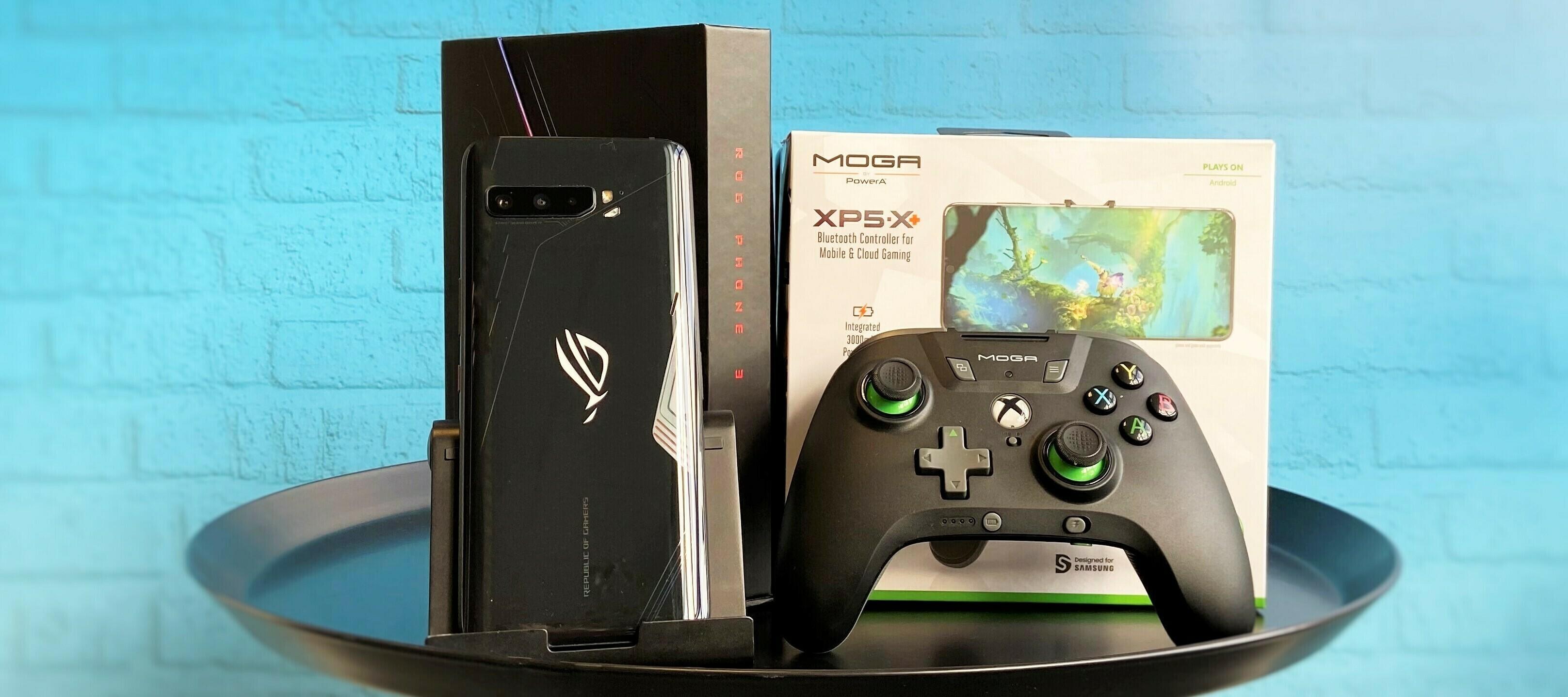 Asus Rog Phone 3 inkl. Moga XP5-X+ Bluetooth Controller - ein Bundle zum Zocken!