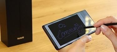 Das Samsung Galaxy Note 10 lite -  Effizient durch den Alltag!