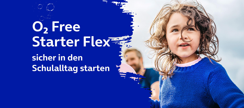 O₂ Free Starter Flex und mehr - Mit aktuellen Angeboten von O₂ sicher in den Schulalltag starten