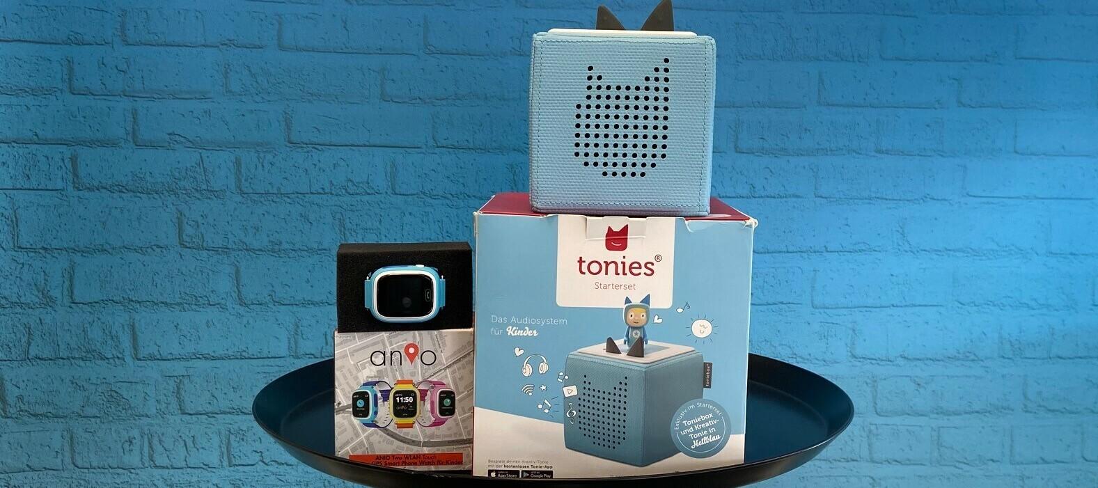 Anio Two WLAN Touch Smart Phone Watch & Toniebox als Testbundle