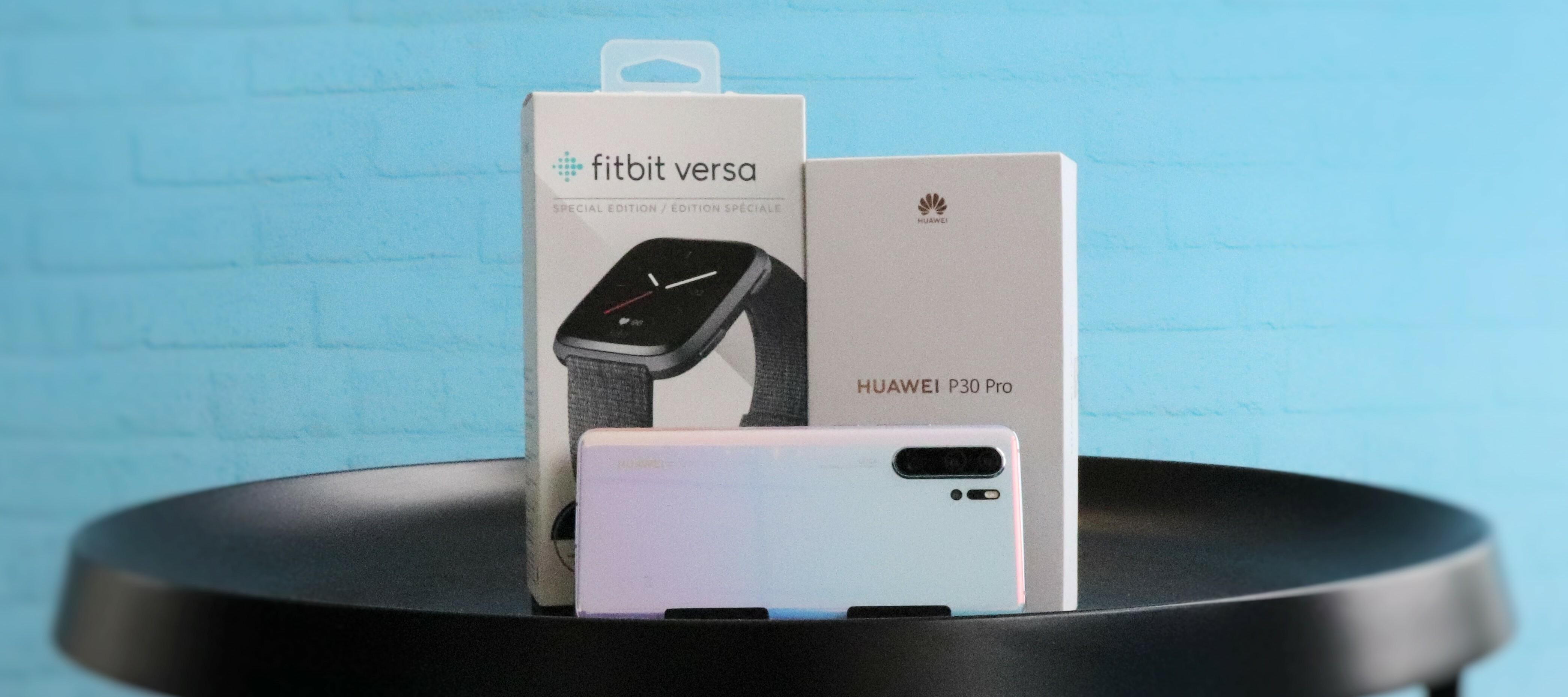 Huawei P30 Pro und Fitbit Versa als Testbundle: Bewirb dich jetzt um deine Neugierde zu stillen!
