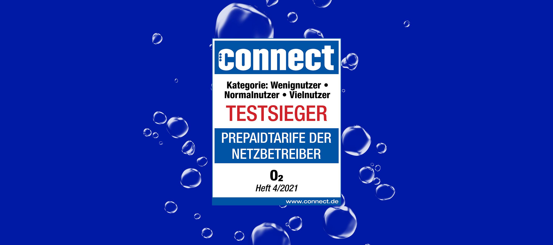 o2 Prepaid: Dreifachsieg beim connect Prepaid-Check