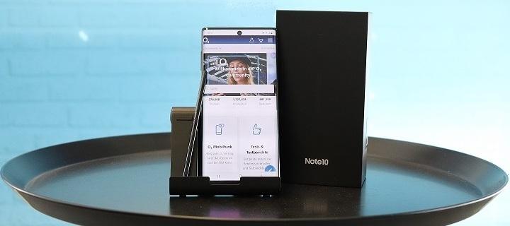 Es ist da! Das neue Samsung Galaxy Note10! Testet das neueste Smartphone mit dem innovativen S-Pen.