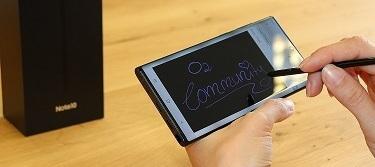 Samsung Galaxy Note 10: Wer schreibt, der bleibt?