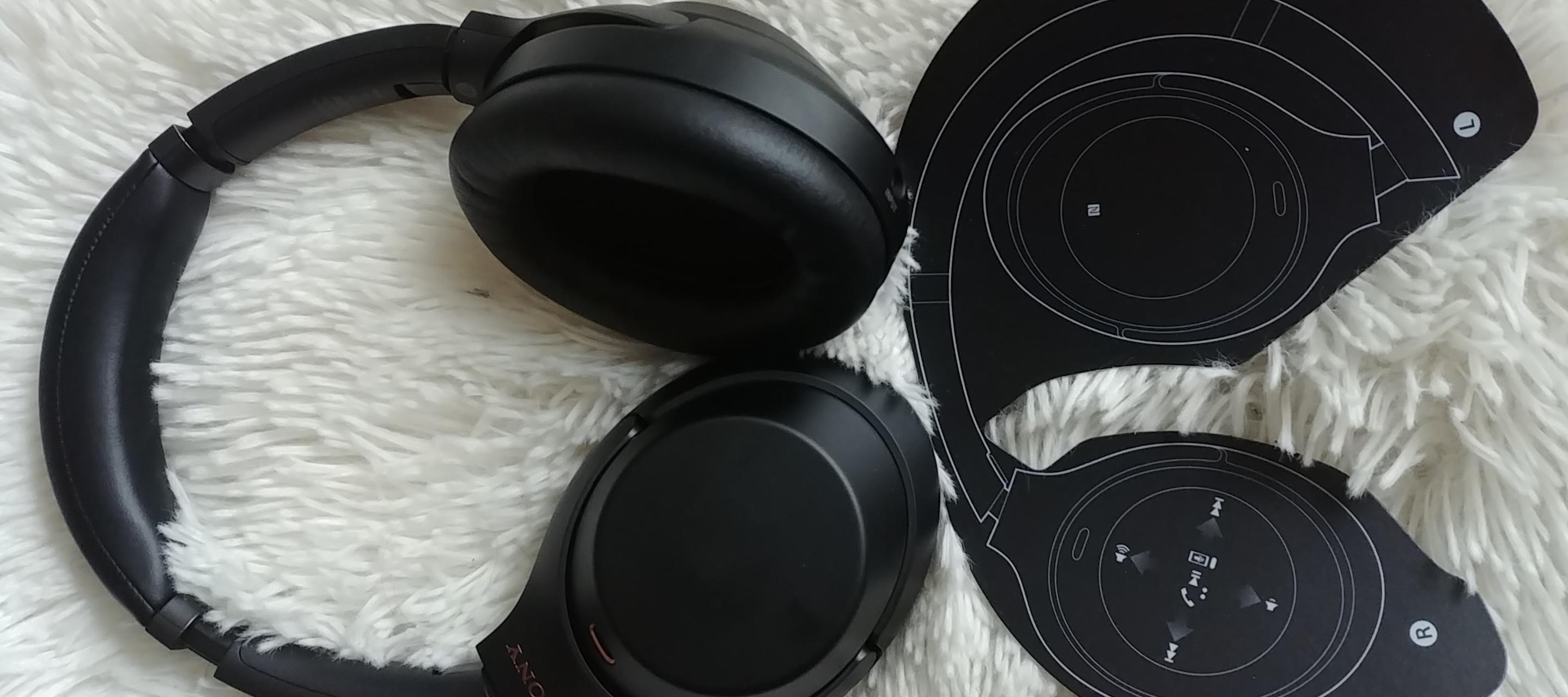Kopfhörer auf und abtauchen mit den Sony WH 1000XM3